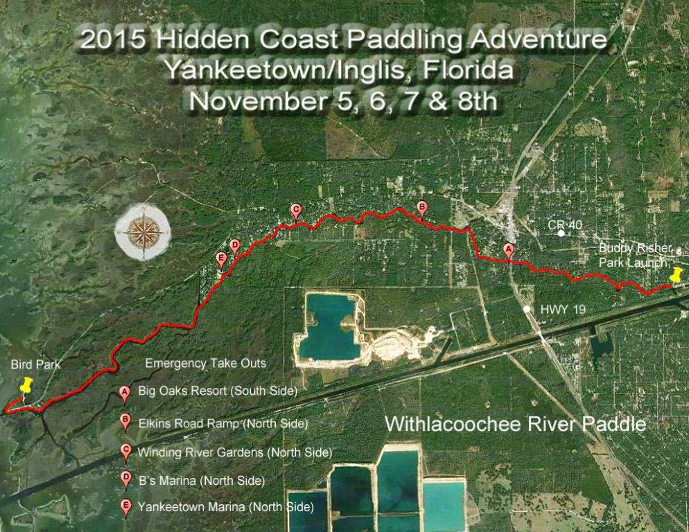 Withlacoochee River Trail Map